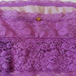 PINK Victoria's Secret Intimates & Sleepwear - ♦️ 3for$30 PINK VS Lace Bandeau Purple Small